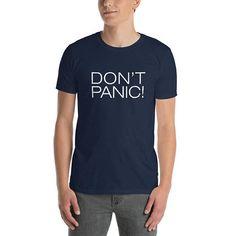 Don't Panic - Elon Musk's Star Man Shirt Tesla Driving In Space T-shirt #spacex #spaceshirt #tesla