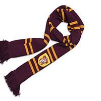 Harry Potter Striped Scarf Gryffindor/Slytherin/Ravenclaw/Hufflepuff available from Light in the Box #harrypotter #Gryffindor #affiliate