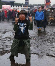 Wacken Open Air im Schlamm Festivals, Heavy Metal, Hipster, Rock, Style, Fashion, Wacken Open Air, Concerts, Musik