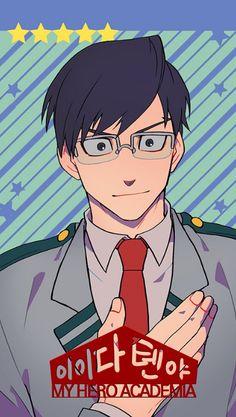 Boku no Hero Academia    Tenya Iida