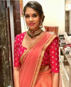Pattu Saree Blouse Designs, Stylish Blouse Design, Fancy Blouse Designs, Bridal Blouse Designs, Latest Saree Blouse Designs, Saree Blouse Patterns, Designer Blouse Patterns, Stylish Sarees, Actors