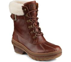 Sperry Top-Sider Women's Gold Cup Ava Lined Waterproof Ankle Boot * Want to know more, click on the image.