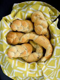 Zobrazit detail - Recept - Bílé pšeničné pečivo - rohlíky, housky