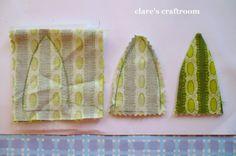 tutorial abacaxi: craftroom de Clara