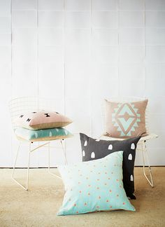 """Pillow inspiration from """"holly's house"""""""