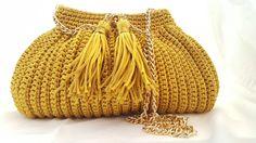 Bucket Bag, Crochet, Fashion, Crocheting, Fashion Styles, Pouch Bag, Chrochet, Fashion Illustrations, Knitting
