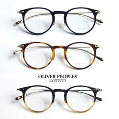 OLIVER PEOPLES Oliver Peoples MARETT Combi Boston frame with ITA glasses 2016
