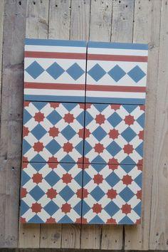 Sonderanfertigung mit passender Bordüre Cement Tiles, Bespoke, Quilts, Blanket, Custom Cars, Taylormade, Quilt Sets, Blankets, Log Cabin Quilts