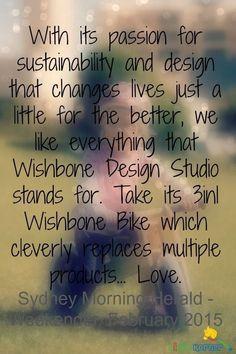 Click here to learn more about the Wishbone Balance Bike: http://kiddokorner.com/wishbone-design-studio/wishbone-design-3-in-1-bike.html $229.00