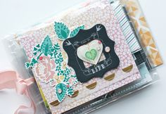 Mini Album Using Product Packaging