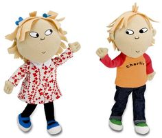$24.99 Charlie and Lola: Talking Poseable Set by Kids Preferred. Kids Preferred Talking Poseable Charlie and Lola SetThis is Kids Preferred's boxed set of Lauren Child's charming children from her book series. The dolls feature various familiar phrases from Charlie and Lola stories. They have poseable arms and legs and are packaged in a display gift box with a reusable play scene.Product Dimensions (inches): 9.7 (L) x 8.4 (W) x 5.6 (H)Age: 1 year and up