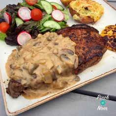 Syn Free Creamy Pepper Sauce Slimming World Slimming World Dinners, Slimming World Recipes Syn Free, Slimming World Syns, Slimming Eats, Steaks, Syn Free Gravy, Syn Free Food, Sliming World, Cooking Recipes