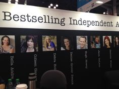 A new booth just for Indie authors Book Expo, What Is Like, Book Lovers, Authors, Indie, America, Books, Libros, Book