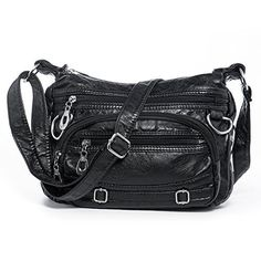 New Trending Shoulder Bags: Women Soft Washed Leather Crossbody Bag, Multi Pockets Shoulder Purse Cellphone Bag   Nail Clipper. Women Soft Washed Leather Crossbody Bag, Multi Pockets Shoulder Purse Cellphone Bag   Nail Clipper  Special Offer: $19.99  366 Reviews The Katloo Washed Crossbody Bag is a modern and chic purse at a price anyone would love. This spacious shoulder bag has lots of organized storage, more...