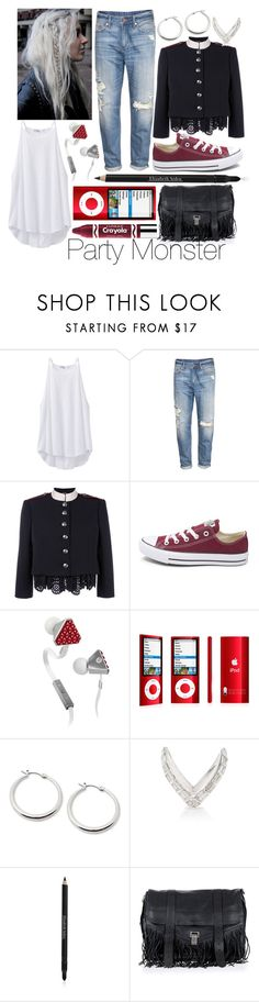 """Party Monster"" by leonorgomes on Polyvore featuring prAna, H&M, Alexander McQueen, Converse, Beats by Dr. Dre, Lauren Ralph Lauren, Anita Ko, Elizabeth Arden, Proenza Schouler and Clinique"