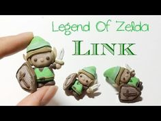 "How To : Polymer Clay Legend Of Zelda ""Link"" - YouTube"