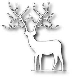 "From the July 2013 release -  $13.49  This Woodland Deer is perfect for nature lovers, men, winter cards and more!  Approximately 3.3"" x 3.6"""