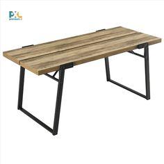 Štýlový a nadčasový dizajn, skvele navrhnutý jedálenský stôl, ktorý zabezpečuje dostatok miesta pre 6 osôb. Čierne kovové nohy a delená laminová doska stola v dekore dreva.
