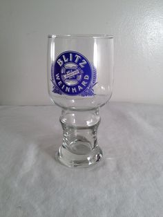 Blitz Weinhard beer glass by ugliducklings on Etsy