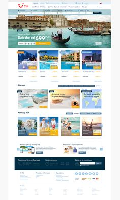 TUI Poland — one of the leading travel agencies in Poland — approached us to design their new website. TUI's mission is to make travel experiences special, our goal was to make the journey begin while looking for the dream destination.
