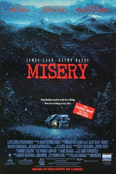 Misery (1990) by Rob Reiner Stephen King Livros 7c2cfb9c0
