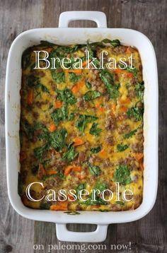 #paleo PaleOMG Easy Breakfast Casserole