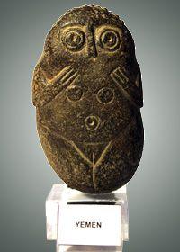 Female figurine from Yemen, 2nd-4th centuries BCE