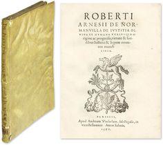 De Iustitia Justitia Divina et Humana Utriusque Origine ac. | Robert Arnois