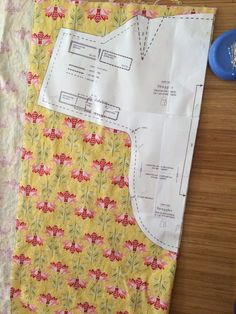 baby swaddler with photo of the pattern put together since it prints in 9 pieces