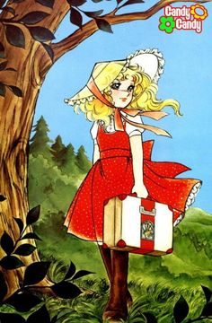 Candy Candy Kyoko Misuki- Candice White Andre by Yumiko Igarashi color sleeve ✤… Manga Illustration, Illustrations, Old Anime, Manga Anime, Sailor Moon, Candy Lady, Candy Pictures, Dulce Candy, Girls Anime
