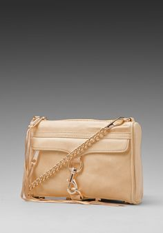 REBECCA MINKOFF Mini Mac Clutch in Bone at Revolve Clothing