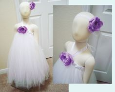 Sweet and Chic White Tutu Dress with Matching by theatredelopera28, $80.00
