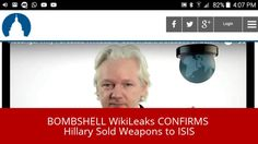 BOMBSHELL WikiLeaks CONFIRMS Hillary Sold Weapons - Published on Sep 29, 2016