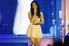 Lana Del Rey in Glasgow #LDR #Paradise_Tour 2013