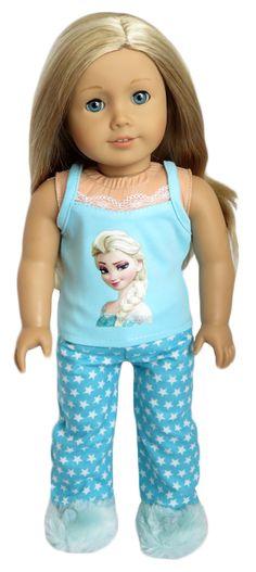 Silly Monkey - Aqua Star Frozen Elsa Pajamas, $15.99 (http://www.silly-monkey.com/products/aqua-star-frozen-elsa-pajamas.html)