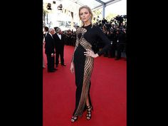 Cannes 2015 Anja Rubik (Quelle: EPA/IAN LANGSDON)