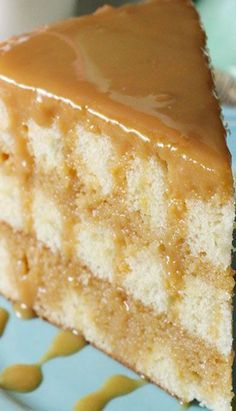 Real deal Caramel cake recipe