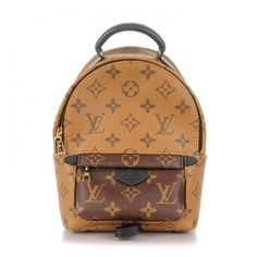 9377a5eed1cd LOUIS VUITTON Monogram Reverse Palm Springs Backpack Mini ❤ liked on  Polyvore featuring bags, backpacks, palm tree backpack, louis vuitton  knapsack, ...