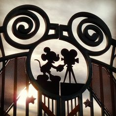 Mickey Mouse fence design