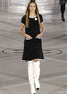 CHANEL DRESS- I love this look