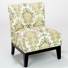 Green Ikat Darby Chair mediterranean chairs