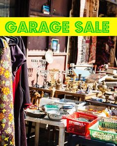Throw a Great Garage Sale — Apartment Therapy's Guide to the Perfect Summer