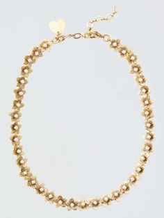 erickson beamon for draper james sugar magnolia necklace by Draper James