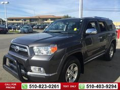 2013 Toyota 4Runner SR5 Call for Price  miles 510-823-0261 Transmission: Automatic  #Toyota #4Runner #used #cars #OneToyotaofOakland #Oakland #CA #tapcars