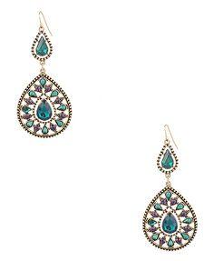 gothic teardrop earrings