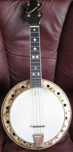 George Kempton Kemptone Banjo Ukulele --- https://www.pinterest.com/lardyfatboy/