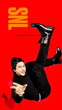 Adam Driver's SNL promo card