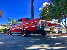 Obama Daughter, Donk Cars, Impalas, Low Rider, Sweet Cars, Chevrolet Impala, Chicano, Car Car, Custom Cars