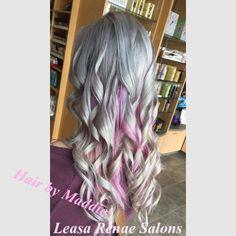 Hair by Maddie Freeborn at Leasa Renae Salons