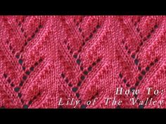How To | Lily of The Valley | Pattern - YouTube